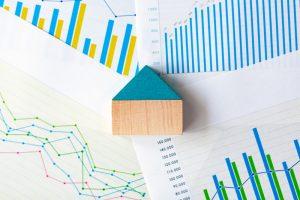 アルヒマガジンメインイメージ(積み木の家とグラフ)
