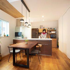 トヨタホーム建築実例(キッチン1)