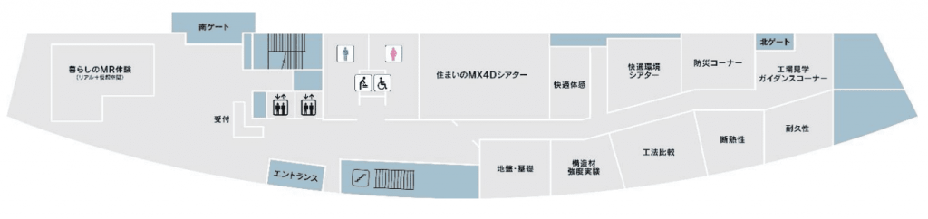 トヨタホーム TQ FACTORY マップ